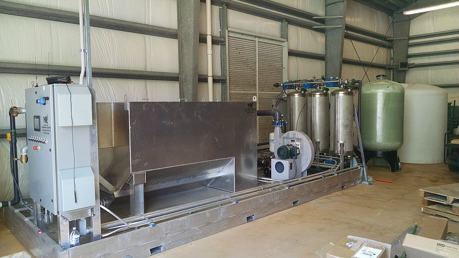Marine Research Groundwater Treatment System