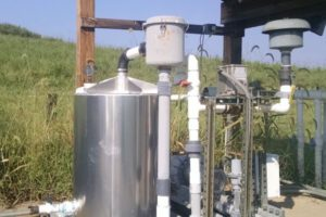 Municipal Landfill Project to Remediate PCE, TCE, Vinyl Chloride and Methane