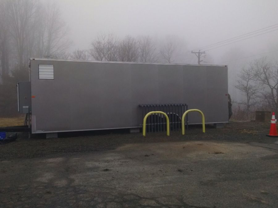 Mountain top gas station remediation