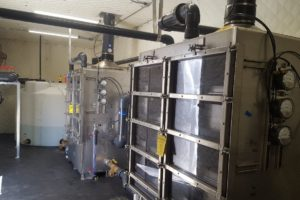 Chlorinated Solvents Removal with 10 Remote Wells