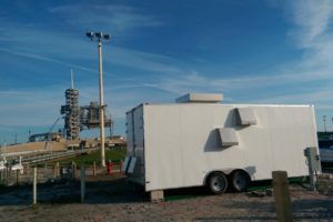 Launch Site Air Sparge System